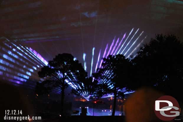 Illuminations: Reflections of Earth - Epcot - Lasers