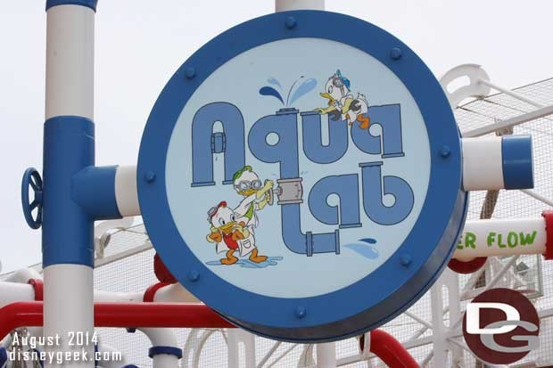 Disney Fantasy - AquaLab - sign