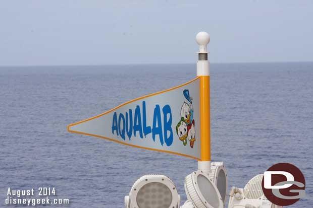 Disney Fantasy - AquaLab -