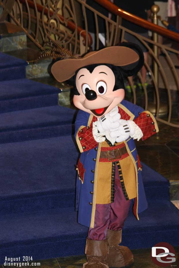 Disney Fantasy - Mickey Mouse - Pirate Night