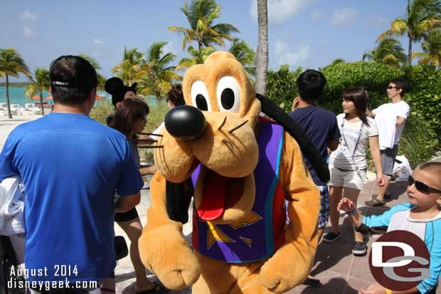 Disney Fantasy - Castaway Cay - Pluto