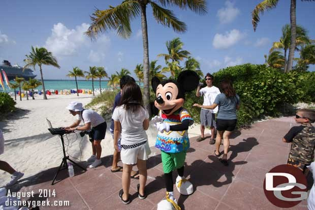 Disney Fantasy - Castaway Cay - Mickey Mouse