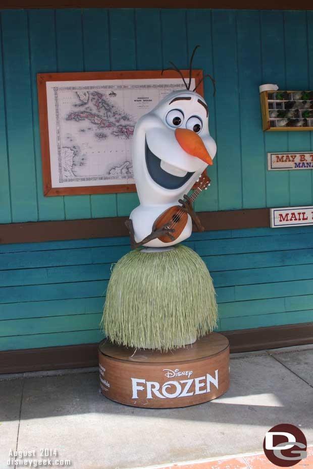 Disney Fantasy - Castaway Cay - Olaf