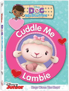 Doc Mcstuffins: Cuddle Me Lambie Now on DVD (Information & Daynah's 1st Impressions)