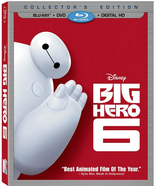 Big Hero 6 Coming to Home Video Feb 24, 2015 & Digital HD/Disney Movies Anywhere Feb 3, 2015  #BigHero6