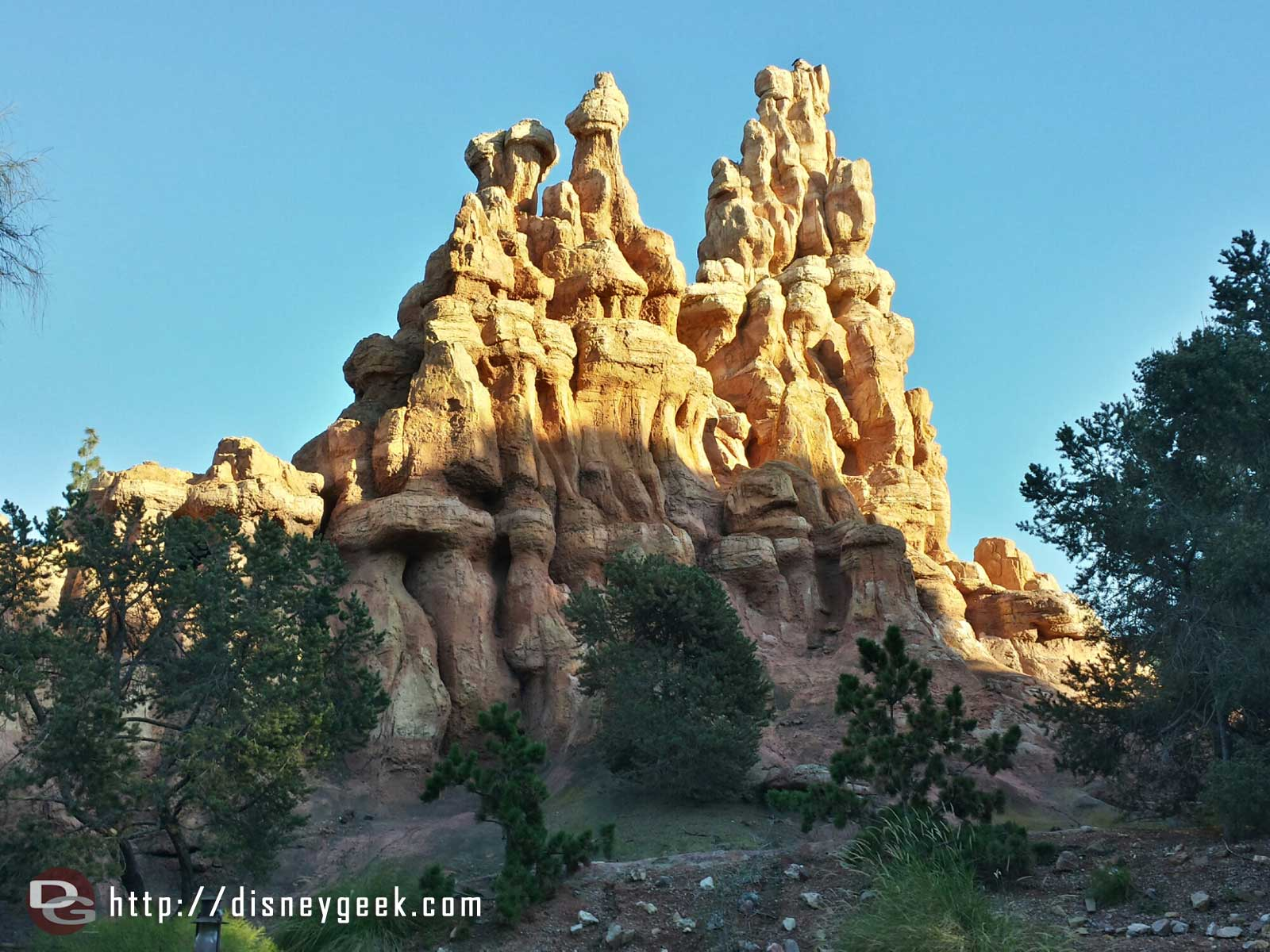 Passing by Big Thunder #Disneyland