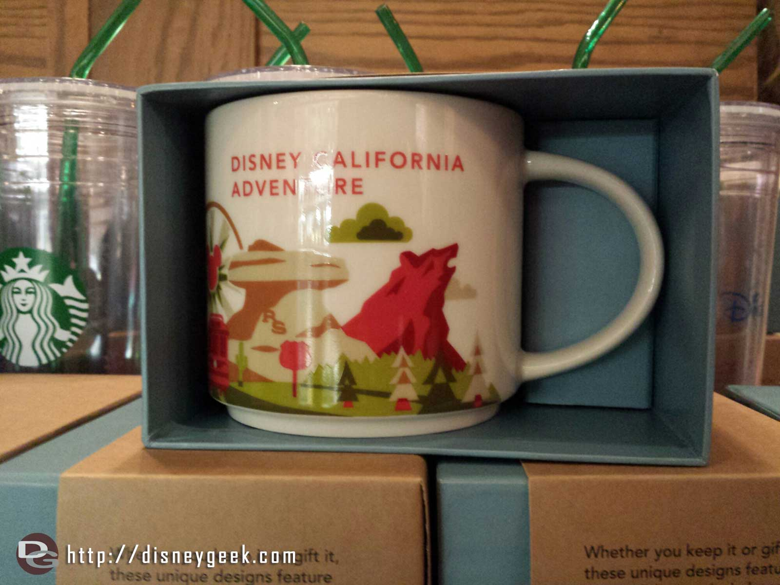 The Fiddler, Fifer & Practical Cafe on #BuenaVistaStreet had DCA Starbucks mugs