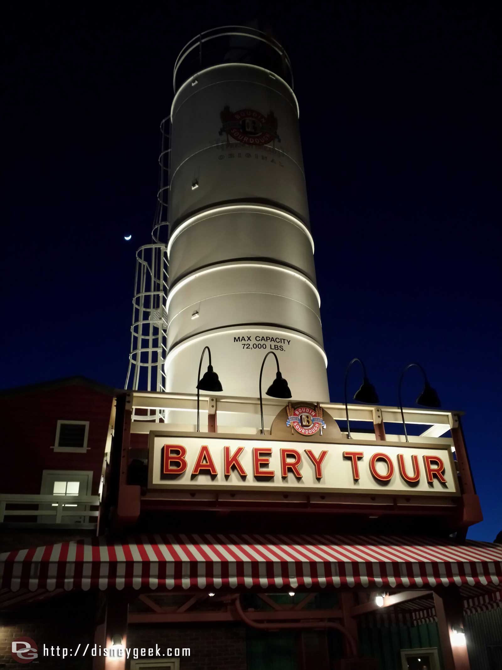 A new sign & awning for the Bakery Tour