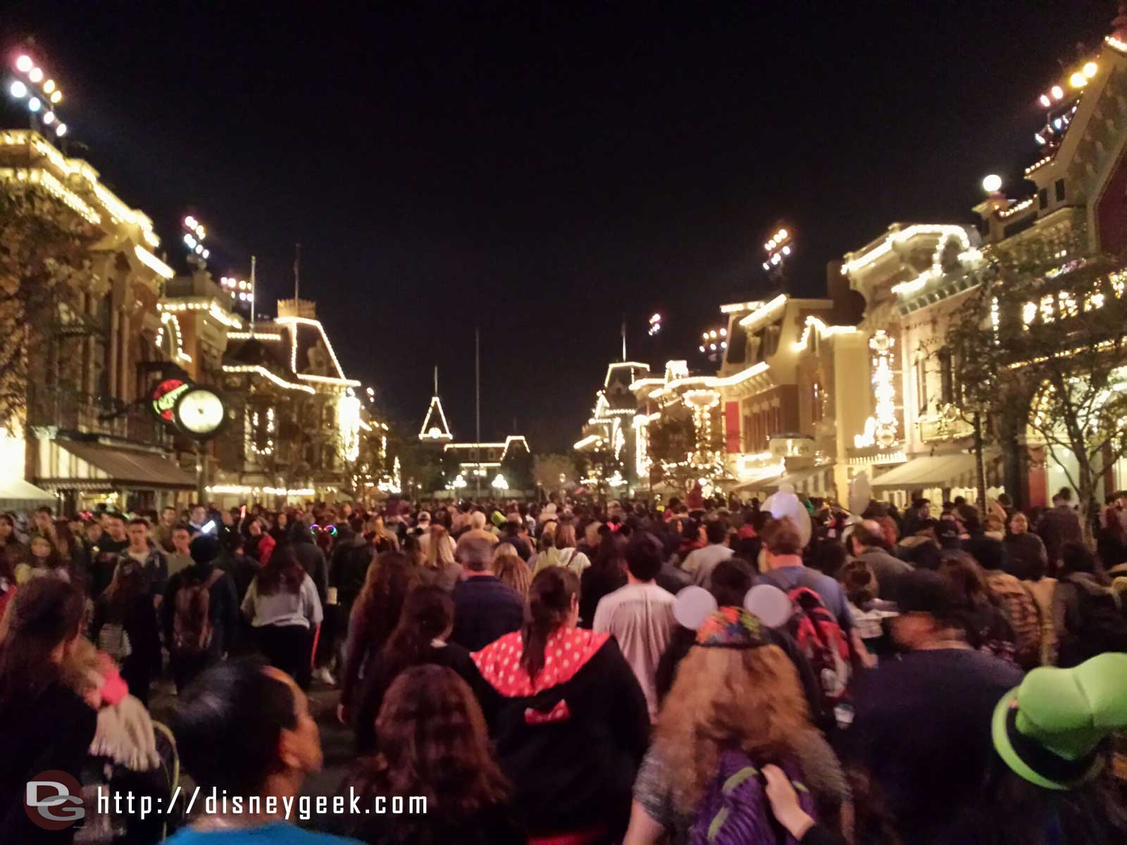 Main Street USA #Disneyland after the fireworks