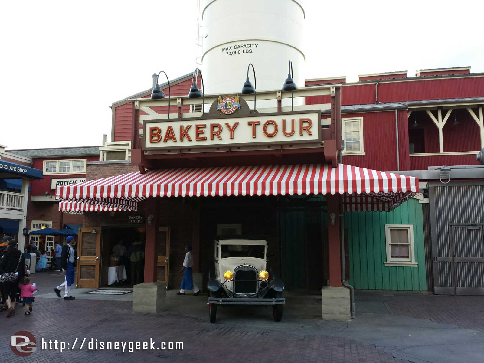 The Bakery tour has reopened at Disney California Adventure