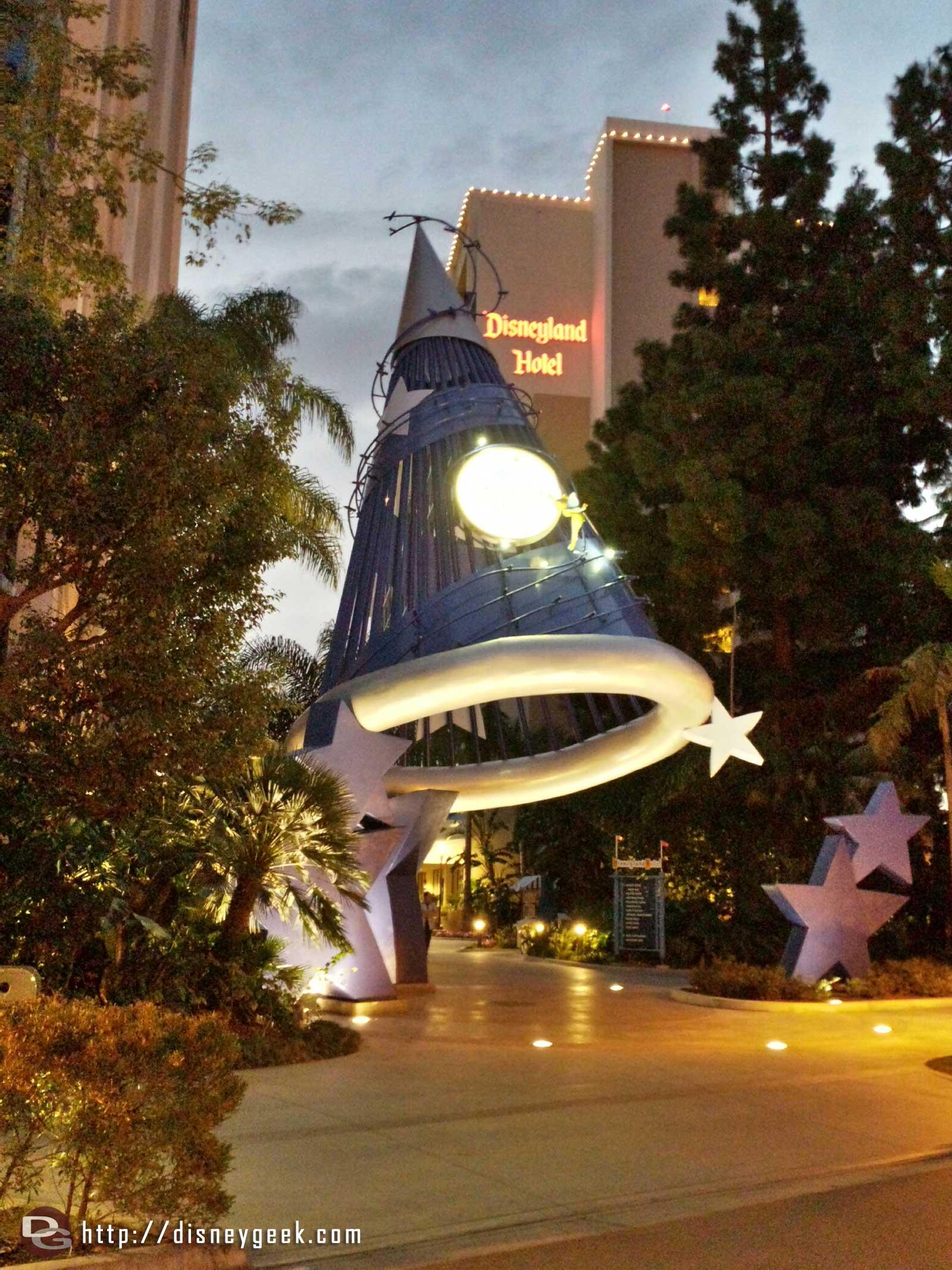 #Disneyland Hotel sorcerer hat