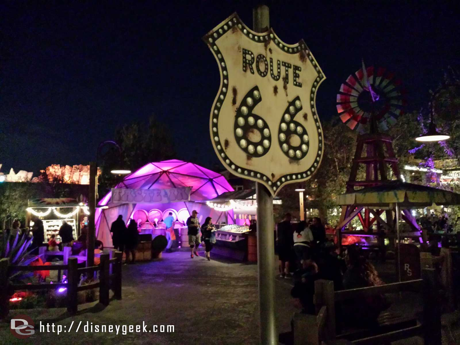 Filmore's on Route 66 #CarsLand