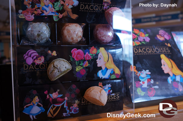 Alice in Wonderland Snacks at Bon Voyage