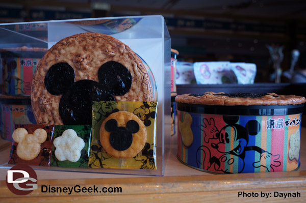 Mickey Rice Crackers at Bon Voyage