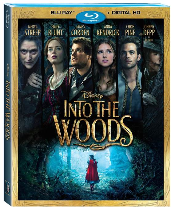Into the Woods on Home Video March 24, 2015 (Disney News Release & Info)