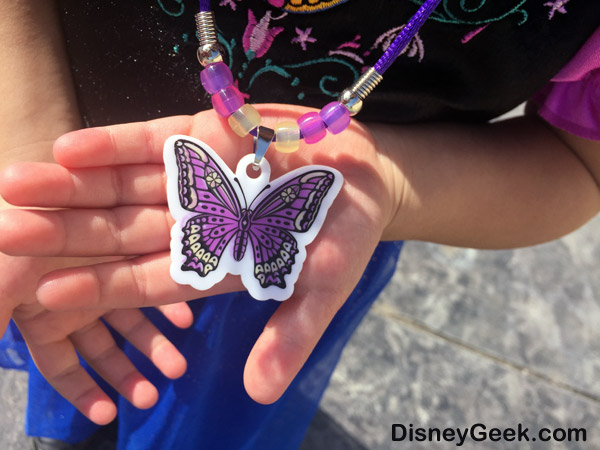 Sofia the First - Butterfly Necklace