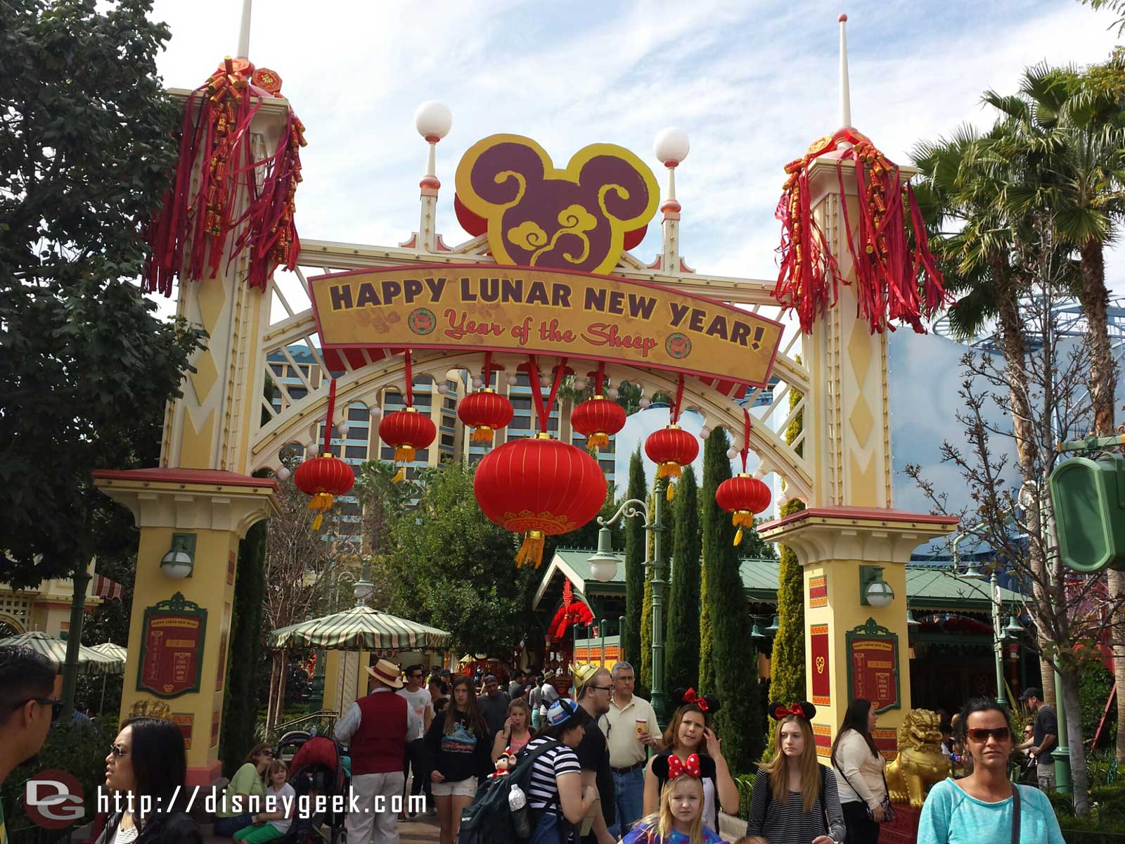 This weekend Lunar New Year is being celebrated in Paradise Gardens