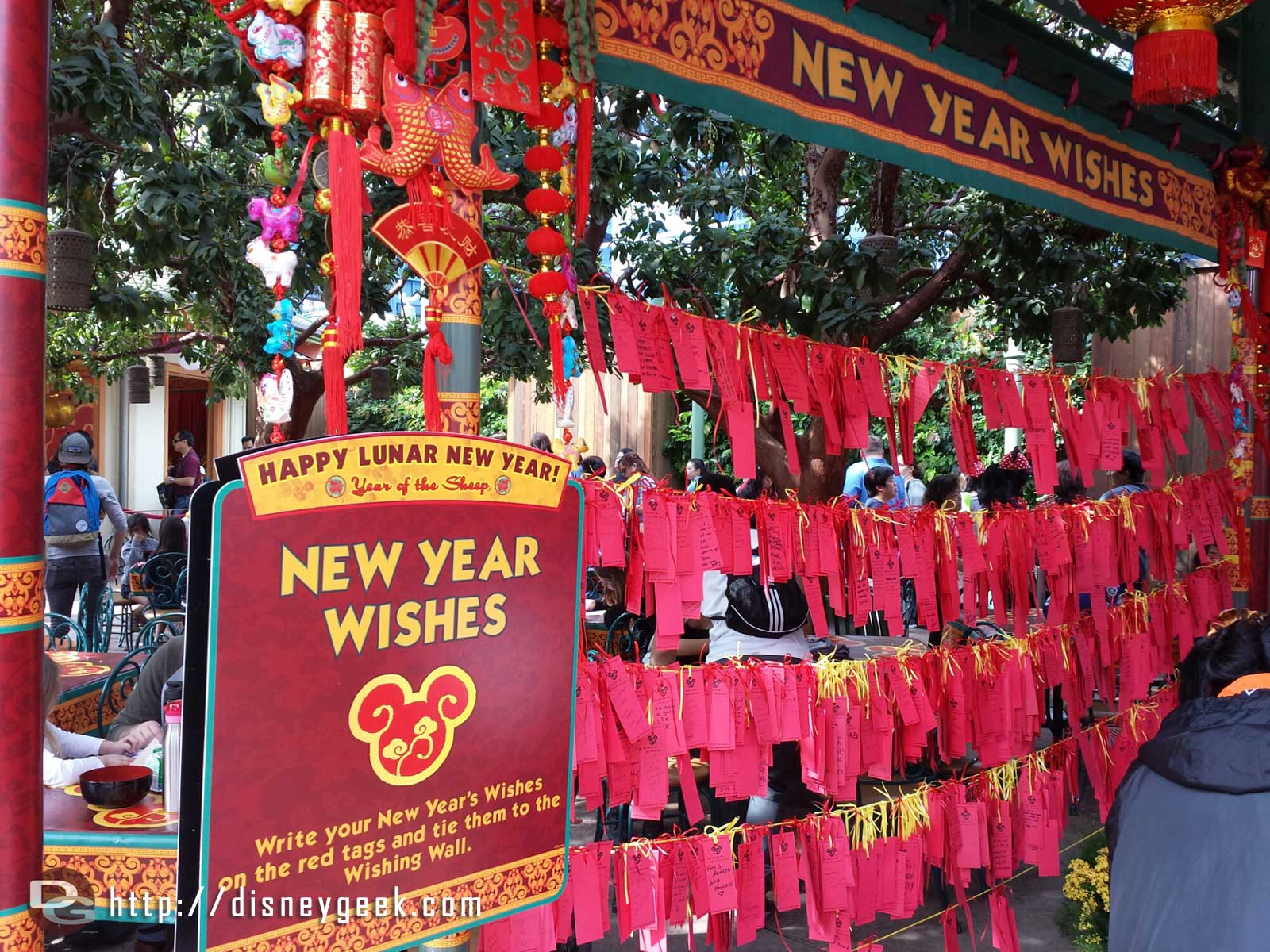 New Year Wishes at the DCA Lunar New Year celebration