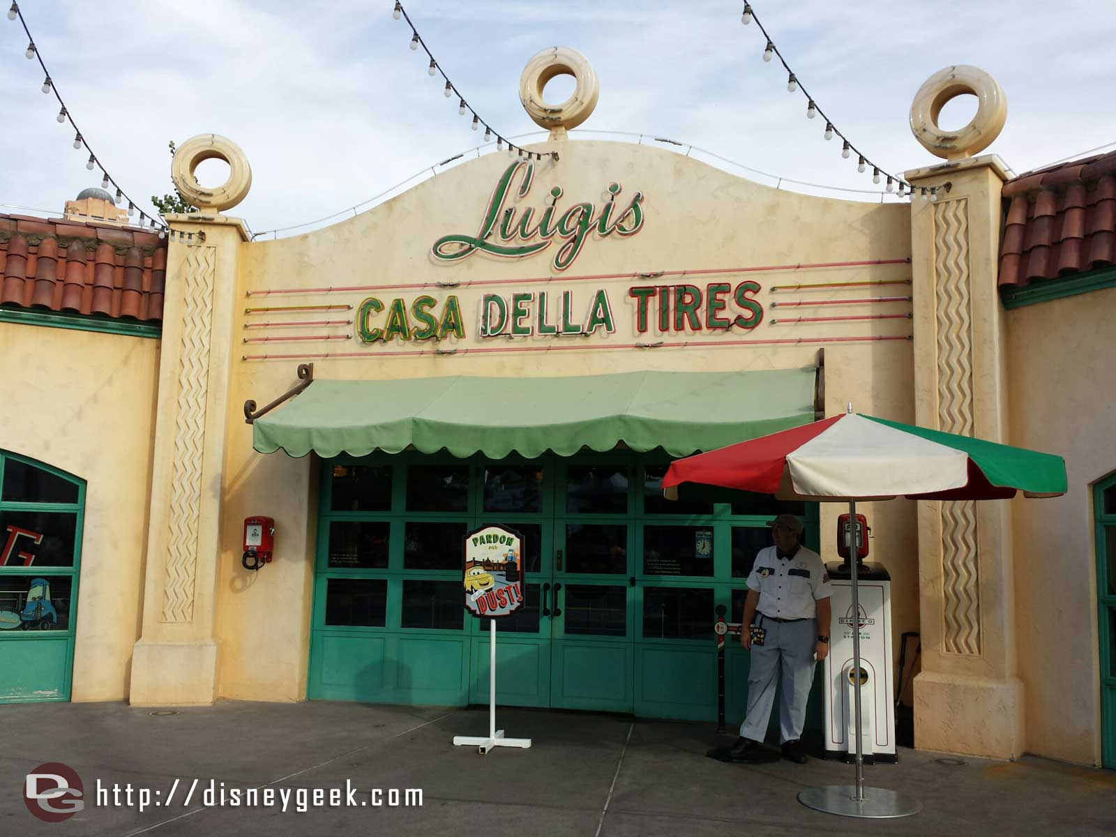 Luigi's Flying Tires closed this past Monday