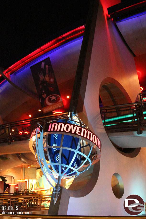 Disney confirmed Innoventions will close March 31st.  No replacement was announced yet.