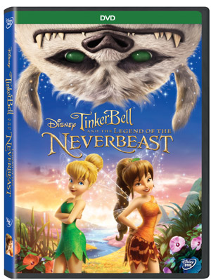 Tinkerbell and the Legend of the Neverbeast Blue-Ray and DVD Combo