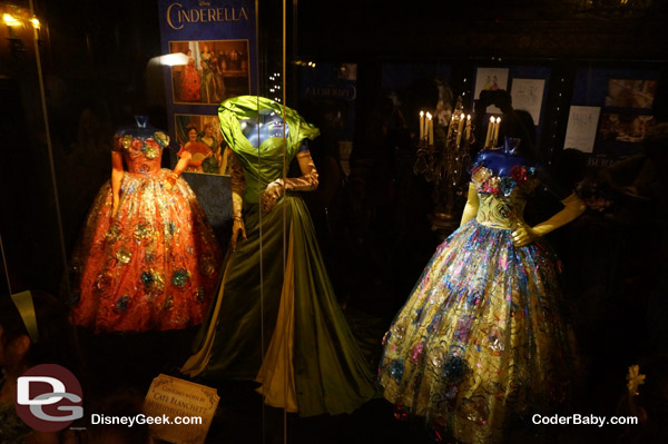 Cinderella's Step-Sisters and Step- Mother's Dresses