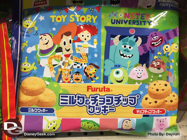 Toy Story and Monster University Cookies at a Japanese Market  (Daynah Discoveries)