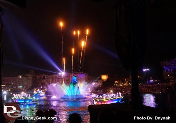 Fantasmic at Tokyo DisneySea