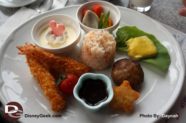 Kids Meal at the Sakura Restaurant at Tokyo DisneySea