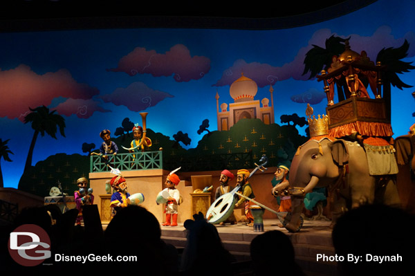 Sindbad's Storybook Voyage at Tokyo DisneySea - Very similar to Small World at Disneyland