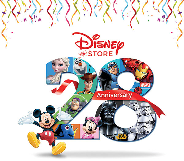 Disney Store's 28th Anniversary Celebration, March 28th, 2015