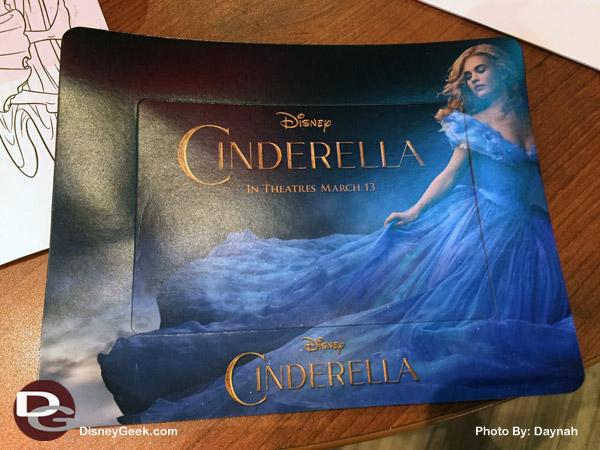 Cinderella Magnet Frame Freebie