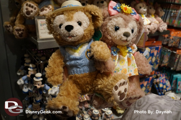 Duffy Bear and Shellie May at the Disney Store in Tokyo