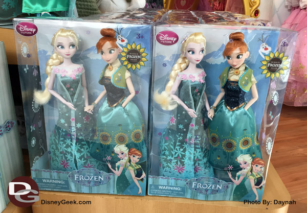 Frozen Fever Dolls