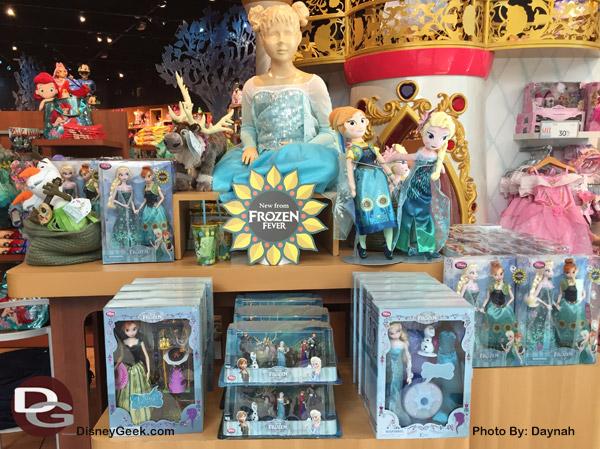 Frozen Fever Merchandise