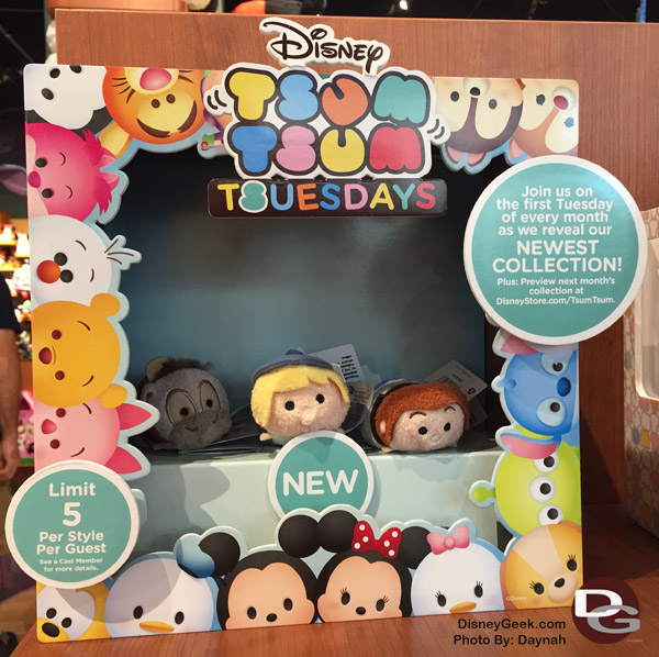 Disney Store Merchandise for March 2015 (Guest Blog by Daynah)
