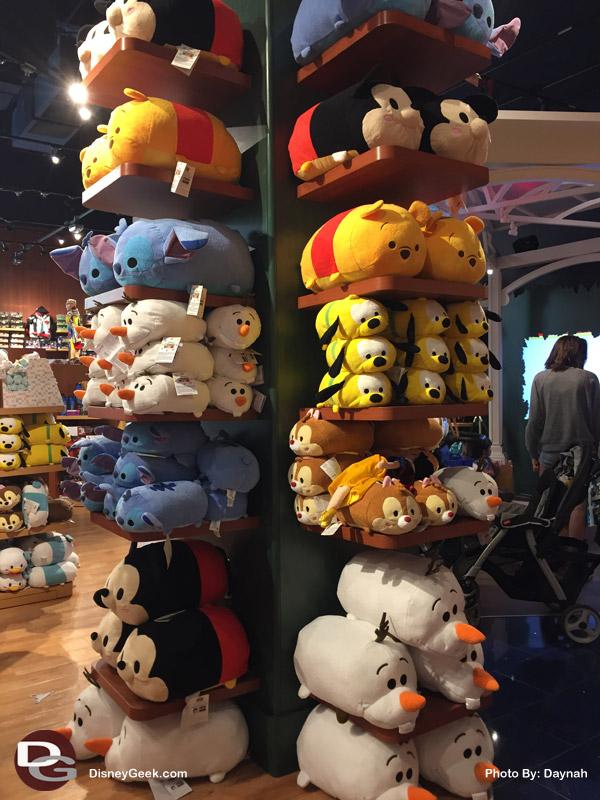 Assortment of Big Tsum Tsum's