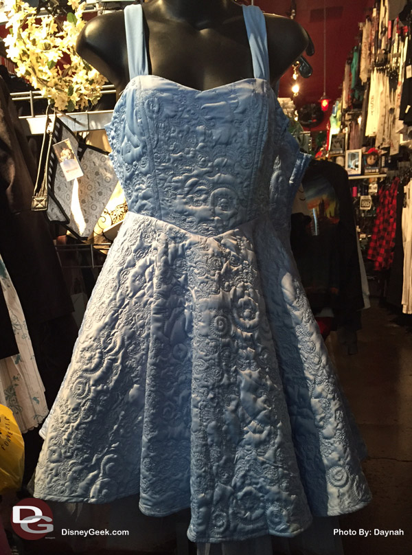 A beautiful blue Cinderella Dress at Hot Topic