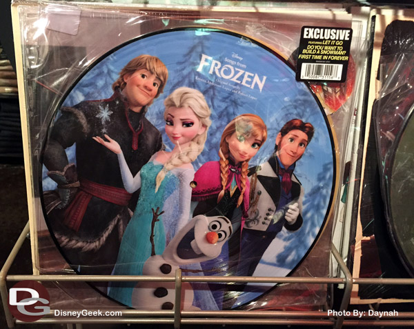Disney Songs From Frozen Vinyl LP Hot Topic Exclusive  - $26.50