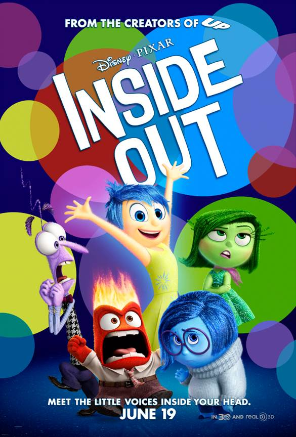 New Inside Out Poster (Disney Release)