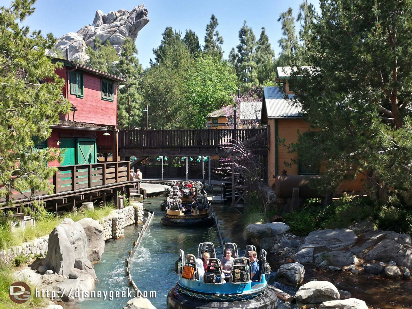 Grizzly River Run has reopened at Disney California Adventure