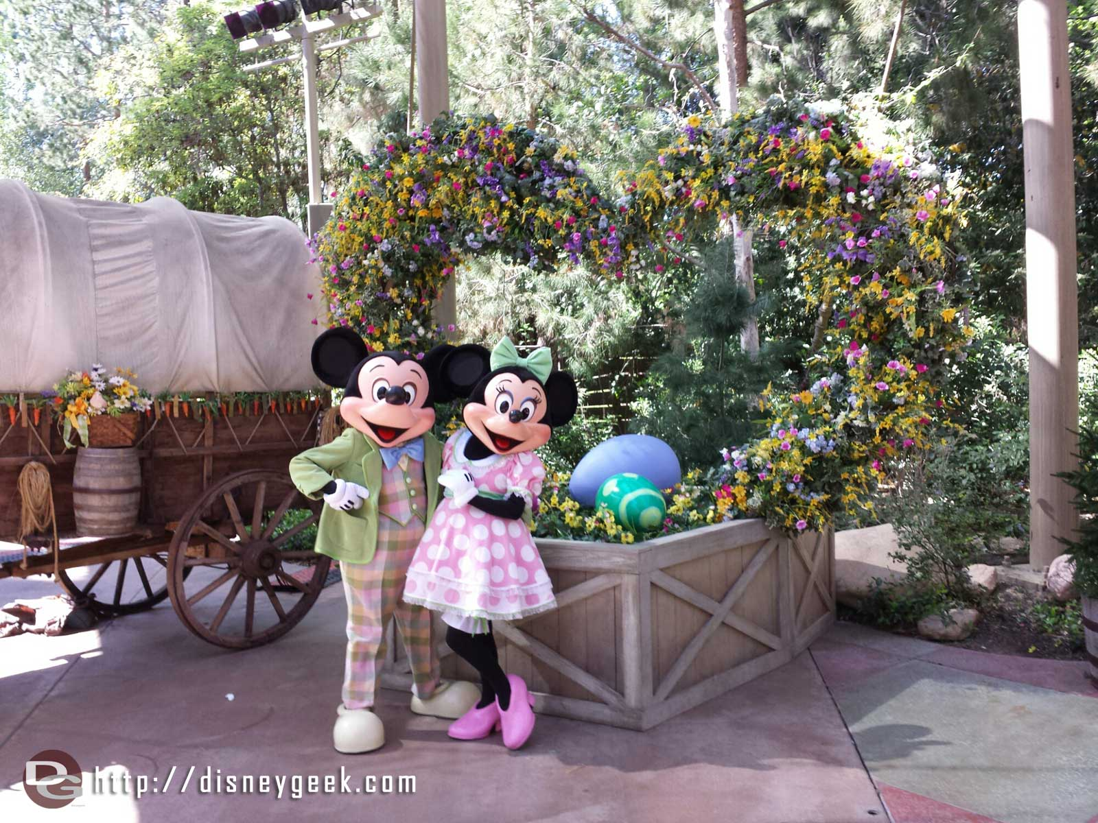 Mickey and Minnie at the Springtime Roundup