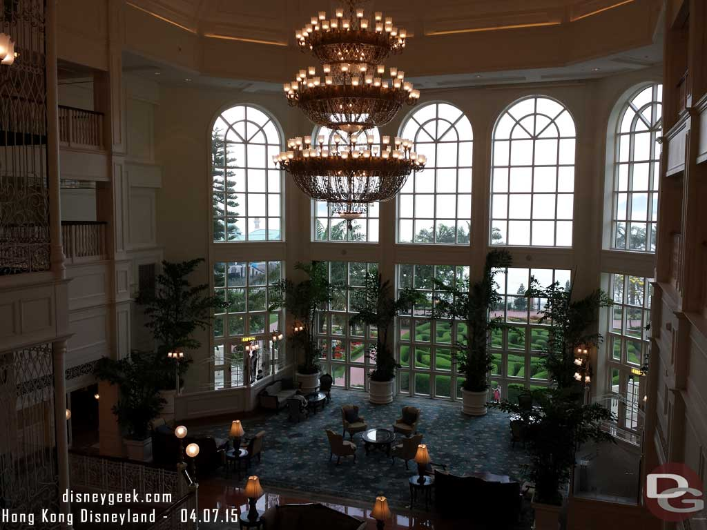 #HongKongDisneyland Hotel & Subway Pictures from 4/7
