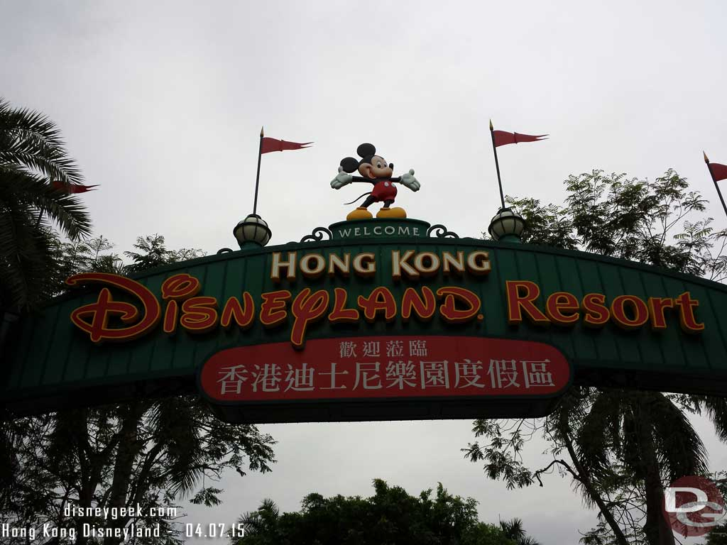Hong Kong Disneyland Turns 11 Today (Some Pictures from 2015)