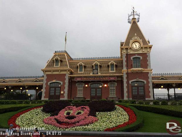 Hong Kong Disneyland Main Street Train Station