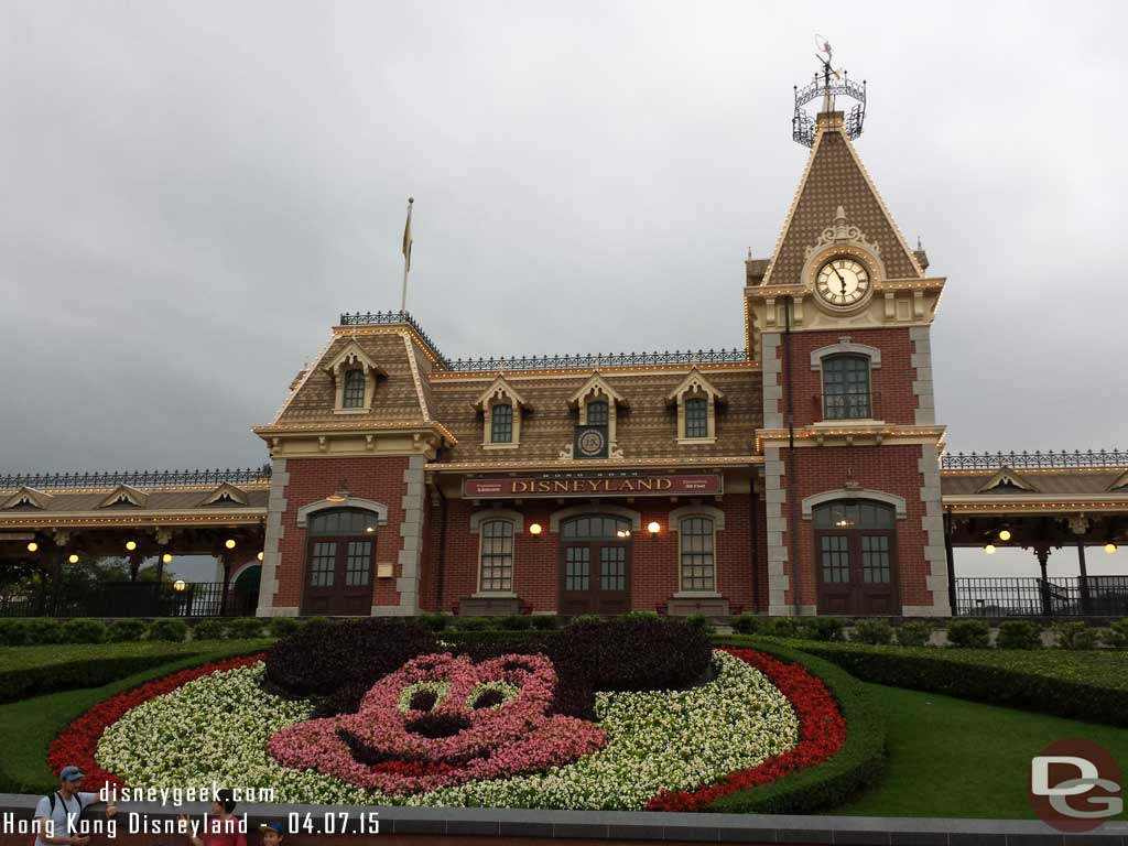 Hong Kong Disneyland Main Street Train Station