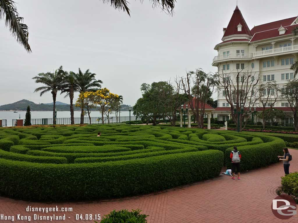 #HongKongDisneyland Hotel pictures of the grounds from 4/8 #hkdl