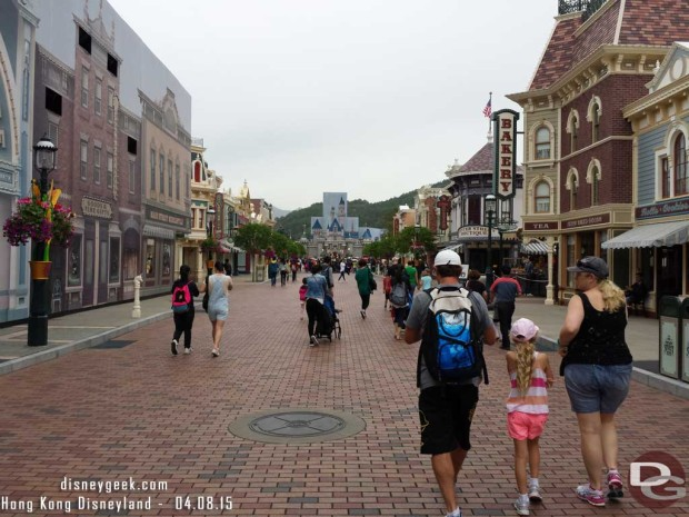 Hong Kong Disneyland - Main Street USA