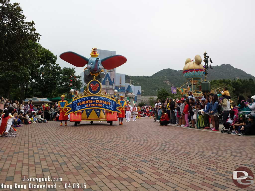 Hong Kong Disneyland - Main Street USA - Flights of Fantasy Parade