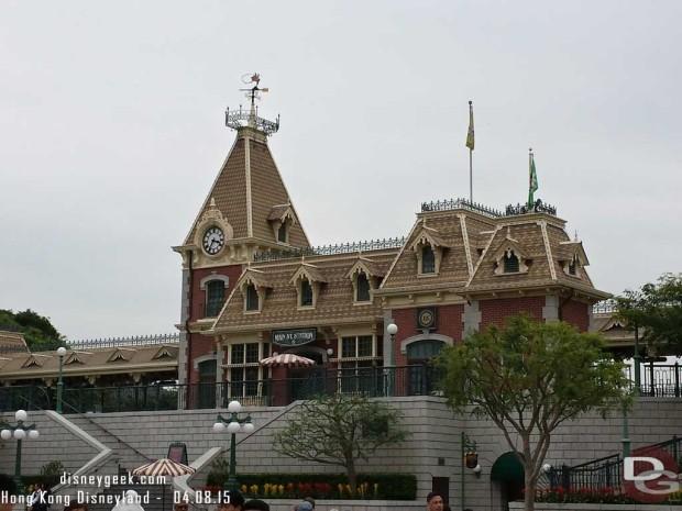 Hong Kong Disneyland - Main Street USA - Train Station